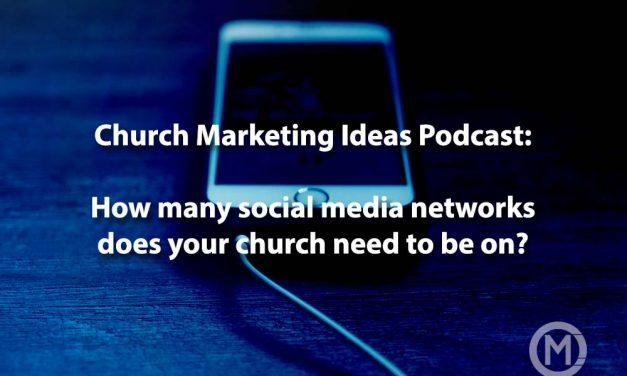Podcast 9: Which Social Media channels could you use for your church plant?