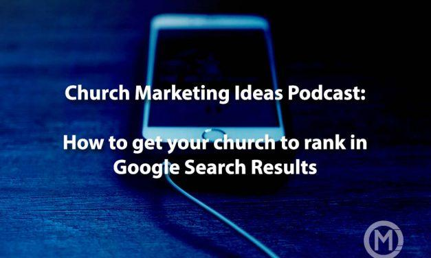 How to get your church ranked in Google Search results for SEO