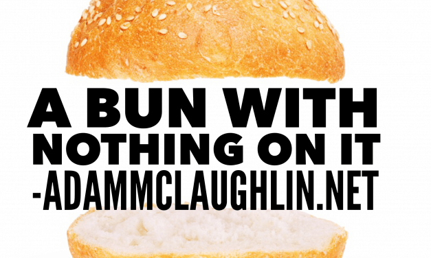 A bun with nothing on it